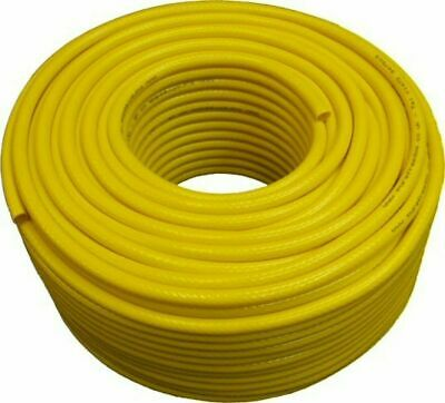100mtr WFP MICROBORE WATER FED POLE HOSE 8MM ID X 13MM OD YELLOW WINDOW CLEANING