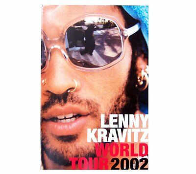 Lenny Kravitz 2002 World Tour Book Brand New Mint Rare