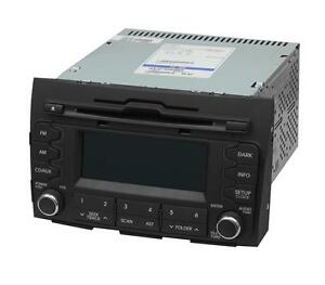 NEU Original Kia Sportage Auto Radio A-200SLC USB + AUX MP3 CD Player KFZ NEU