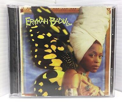 Live By Erykah Badu  Cd  Jan 2004  Universal Distribution