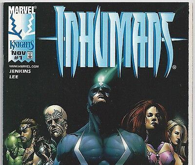 Marvel Comics THE INHUMANS #1 Black Bolt, Medusa from Nov. 1998 in VF con.