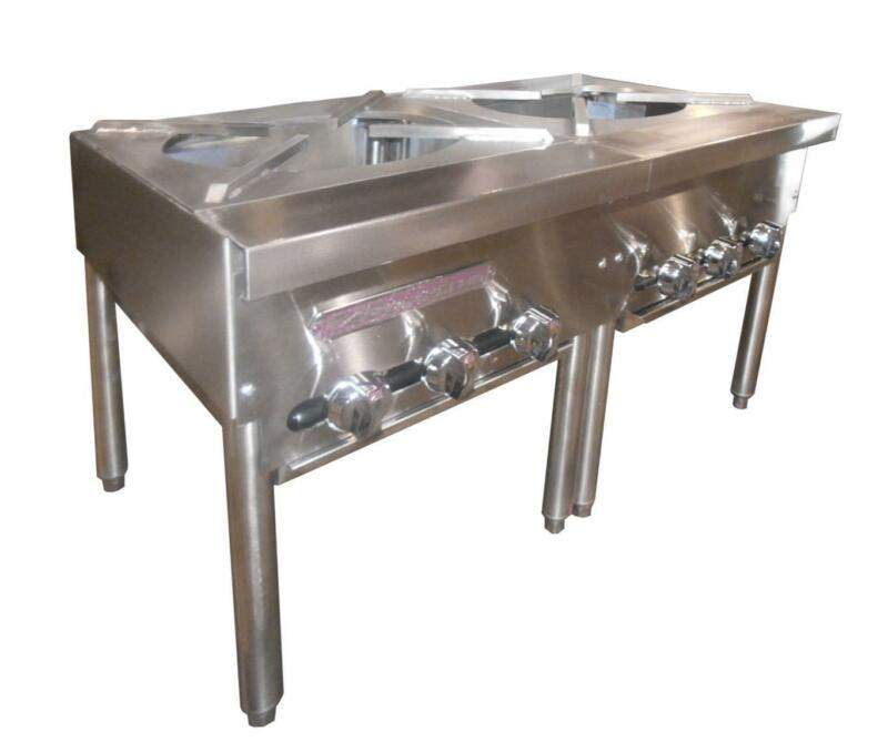 "Southbend Spr-2j 36"" Gas Stock Pot Range Manual W/ 2 Burners Three-ring"