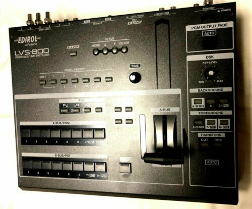 Clean working Roland Edirol LVS-800 Video live switcher mixer BUY IT NOW!