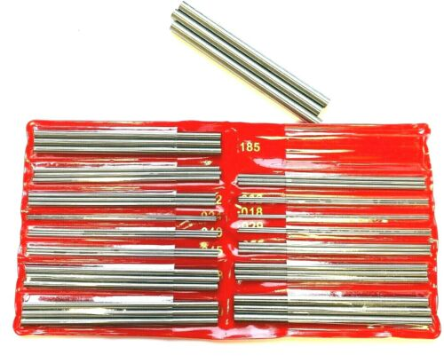 THREAD MEASURING WIRE SET MODEL 600-0500 FOR THREADS 3-48 TPI #NB5316