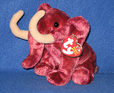 TY COLOSSO the MAMMOTH BEANIE BABY - MINT with NEAR PERFECT TAG