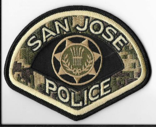 San Jose Police Department, California Military Service Shoulder Patch