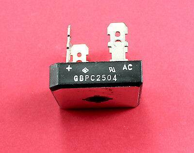 25a Amp 400v Volt Gbpc2504 Diode Bridge Rectifier Pinball Machine Williams Bally