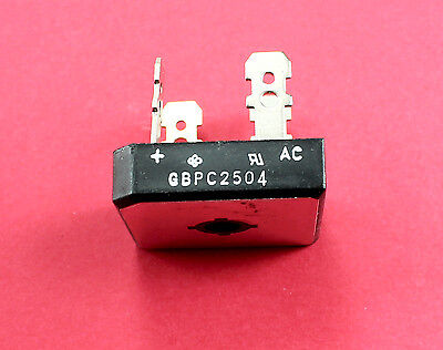 25a Amp 400v Volt Gbpc2504 Diode Bridge Rectifier Pinball Machine Williams Bally