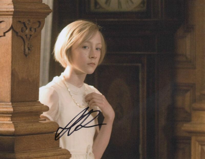 GFA Atonement Movie * SAOIRSE RONAN * Signed 8x10 Photo S3 PROOF COA