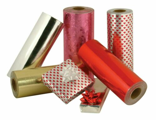 "Jewelry 7.5"" x 150ft Gift Wrapping Paper High Quality Assorted Christmas Holiday"