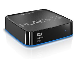 ★NEW! Western Digital WD TV Play Media Player Full-HD Wi-Fi Remote★