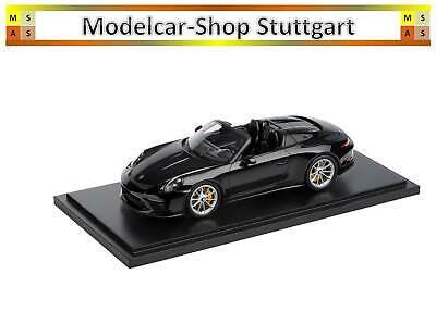 Porsche 911 Speedster Gt Negro + Vitrina - Spark 1:18 - WAP0219320K041...