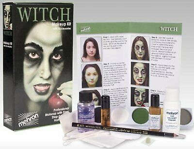 Mehron Premium Witch Character Costume/Makeup - Costume Makeup Kit