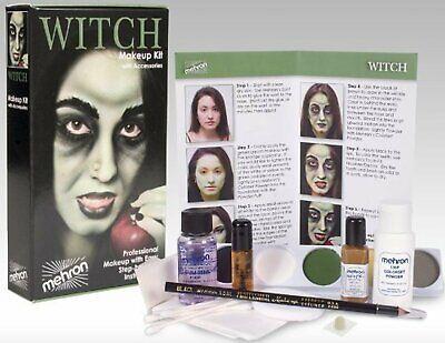 Mehron Premium Witch Character Costume/Makeup Kit