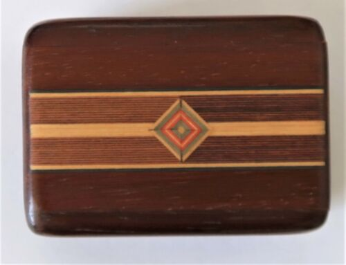 Handcrafted Inlaid Wood Secret Box, Heartwood Creations, made in USA