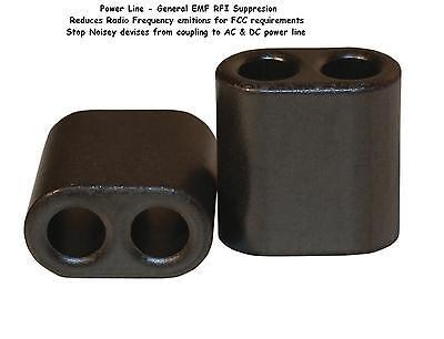 2 Piece Fair Rite Ferrite Bead - Part 2843010302 - Reduce Emf Rf Noise Choke