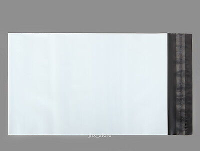 10 A4 Size Poly Envelopes Mailers White Mailing Bags 9
