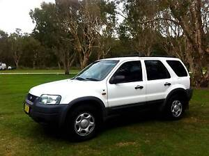 Ford Escape 2004 4WD (4x4) - Low kilometers Airlie Beach Whitsundays Area Preview