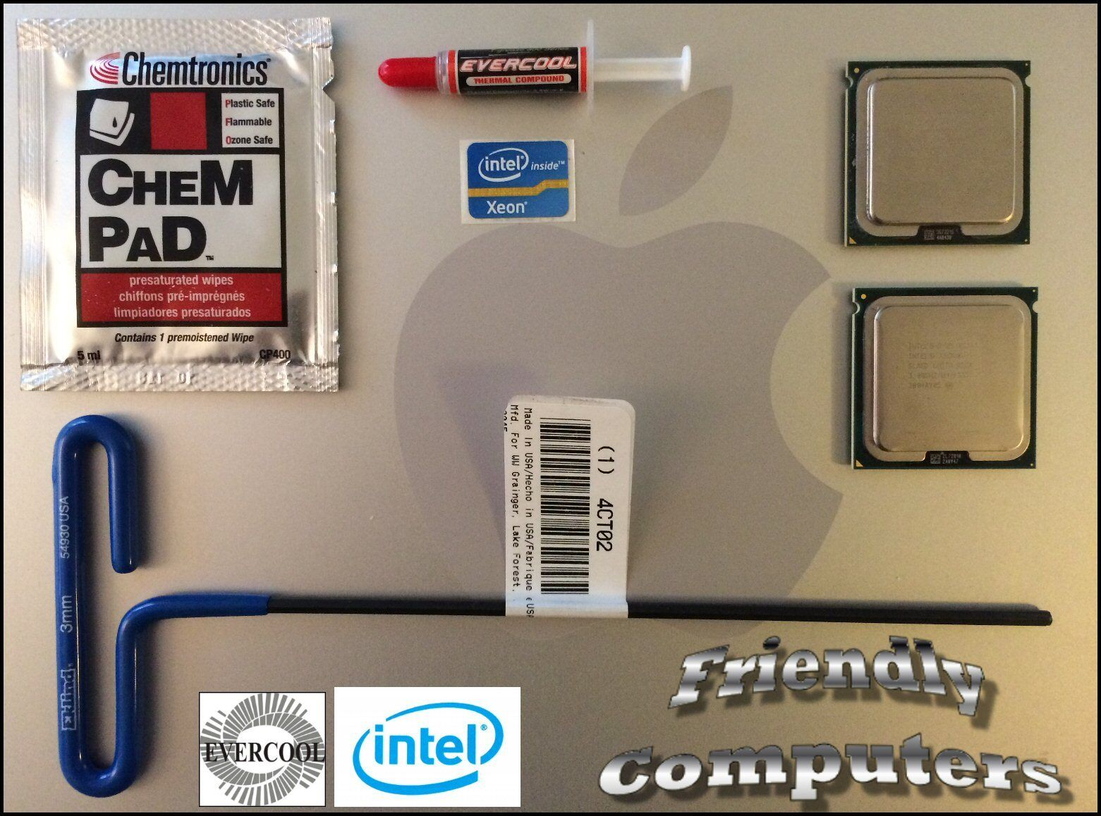 Details about 2008 Apple Mac Pro 3 1 A1186 8 CORE Matched Pair 3 0GHz X5472  XEON CPU 3,1 kit
