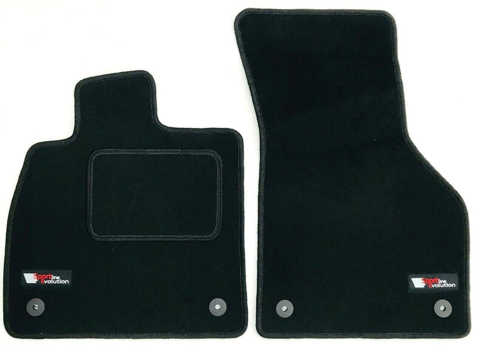 2012 sport Kett Bla ab Bj Türer Seat Leon 5F ST Premium Velours Fußmatten  5
