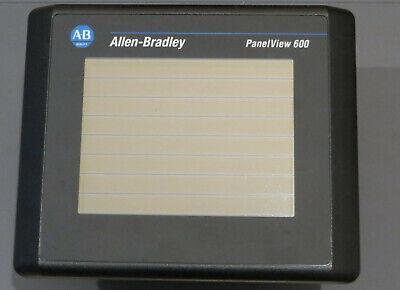 Mint - Allen Bradley Panelview 600 2711-t6c20l1 Ser B Frn 4.30