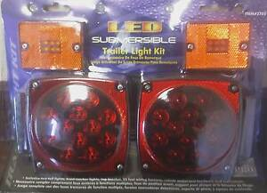 LED-Trailer-taillights-and-marker-lights-with-wiring-harness-and-tag-bracket