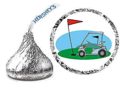 216 GOLF BIRTHDAY PARTY FAVORS HERSHEY KISS LABELS