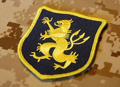 NSWDG Navy SEAL Team 6 DEVGRU Lion Gold Squadron Blue & Yellow Patch ST6 ZD30
