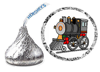 216 TRAIN BIRTHDAY PARTY FAVORS HERSHEY KISS LABELS