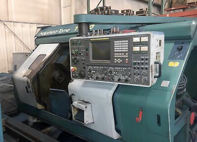 Nakamura-tome Tw-20 Live Tool Cnc Lathe 1992 - Twin Spindle Twin Turret Fanuc