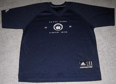 Notre Dame Fighting Irish Adidas Basketball Shooting Shirt- Size Adult No Tag