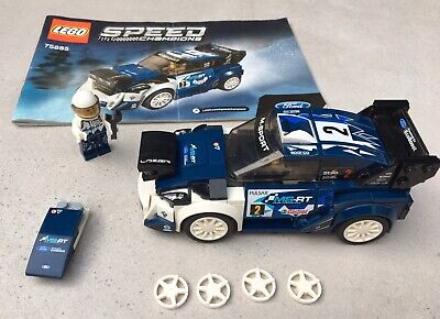 AUTHENTIQUE LEGO 75885 SPEED CHAMPIONS FORD FIESTA WRC M-SPORT COMPLET for sale  Shipping to Nigeria