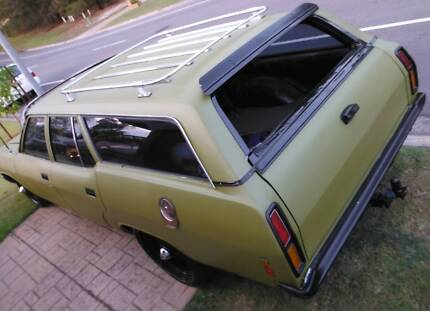 1978 xc falcon wagon old school cruiser rat rod style Robina Gold Coast South Preview
