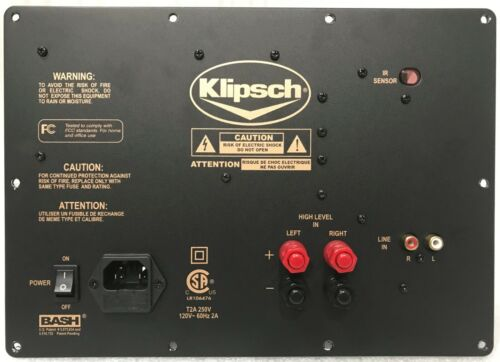 KLIPSCH RW10-D PLATE AMPLIFIER #10 - REFURBISHED - 100% WORKING - FREE SHIPPING