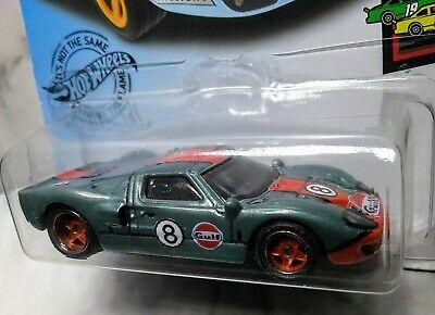 Hot Wheels Ford GT-40.. CUSTOM! ! Super Treasure Hunt.. Real Rider's.. Zgrafx...