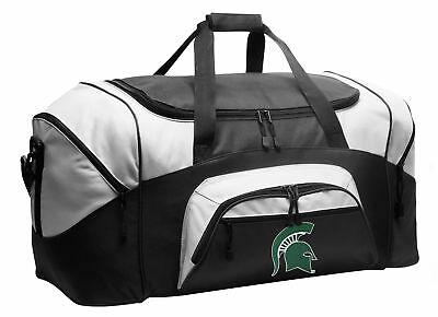 GREAT CHRISTMAS GIFT FOR A MAN Michigan State Gym Bag MSU SPARTANS - Michigan State Spartans Gym Bag