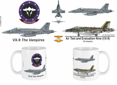 VX-9 Vampires F/A-18 Mug