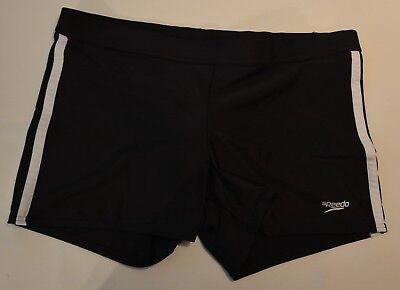 Mens Swimwear Speedo Shoreline Fitness  Trunk Color:  Black ... NWT