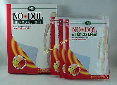 ESI NO-DOL 3 THERM PANSEMENTS auriscaldanti x douleurs musculaires menstruelles