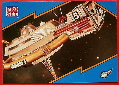 Thunderbirds PRO SET - Card #046 - Thunderbird 5 - Pro Set Inc 1992