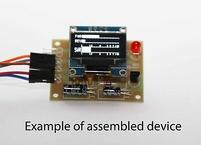 Digital mini-SWR Power meter LCD 128x64. Kit for assembly