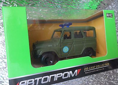 USSR Soviet Russian UAZ Hunter 469 31514 Avtoprom Diecast Car 1:50 Scale Model for sale  Shipping to United States
