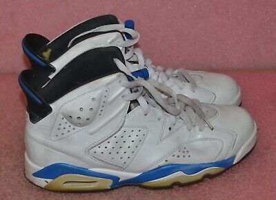 Nike Air Jordan 6 Retro 384664-107 Basketball Shoes Size 8.5