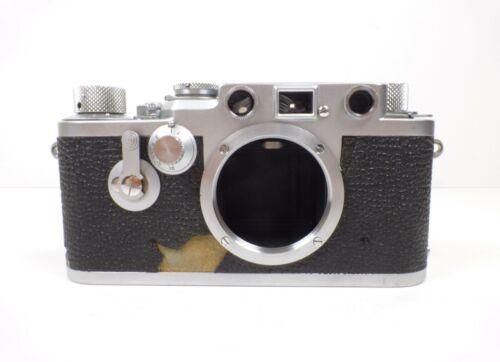 Leitz Wetzlar Leica IIIF 1955 Red Dial 35mm Rangefinder Camera Body Nr. 771149