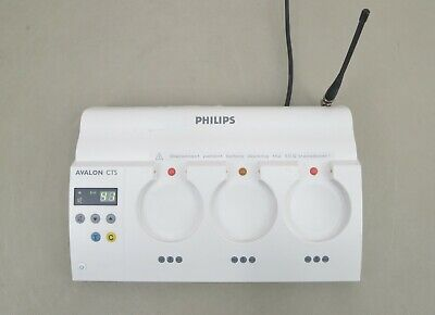 Philips Avalon Cts Fetal Monitor Base Station M2720a M13