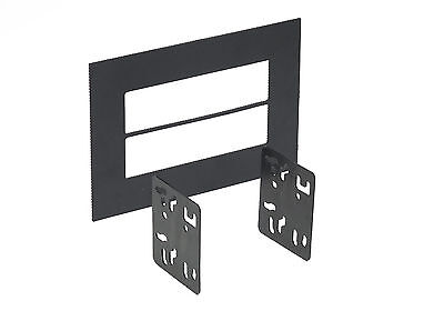 UNIVERSAL ISO TRIM RING WITH BRACKETS DBL-DIN 99-9999 Iso Trim Ring