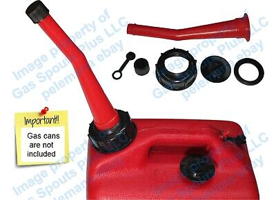 Chilton Red Gas Can Spout Parts Kit Sears Craftsman Aftermarket Replacement