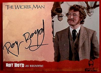 THE WICKER MAN - ROY BOYD as Broome - Autograph Card - WMRB