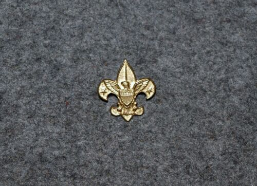 BSA INSIGNIA…TENDERFOOT RANK PIN…SAFETY PIN BACK…PRE 1950