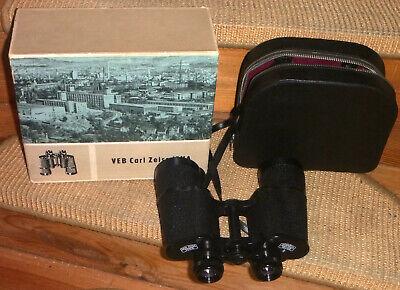 Carl Zeiss Jena Dekarem 10x50 Q1 Fernglas binocularsRiemenTascheorig.Karton